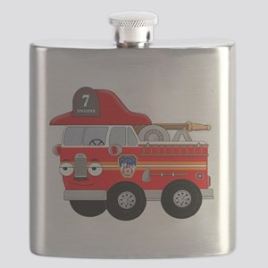 Coops Little Fire Engine Seven FDNY Flask